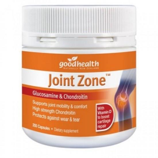 【满50nzd包邮】GoodHealth 好健康 关节灵+维生素D 葡萄糖胺软骨素 200粒