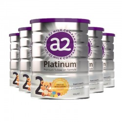 【澳洲直邮】a2白金系列婴幼儿奶粉2段(6-12个月)900g*6桶