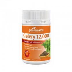 【满50纽币包邮】Good Health 好健康 芹菜籽精华 12000mg 60粒