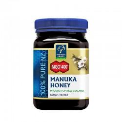 【蜜纽康买二包邮送养胃胶囊】Manuka Health 蜜纽康 MGO400+麦卢卡蜂蜜500g
