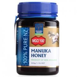 【蜜纽康买二包邮】Manuka Health 蜜纽康 MGO100+ 麦卢卡蜂蜜500g